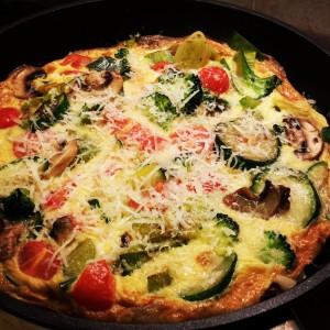 Vegetable-Fritata