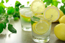 water-lemon-mint