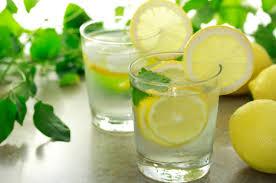 water-lemon-mint